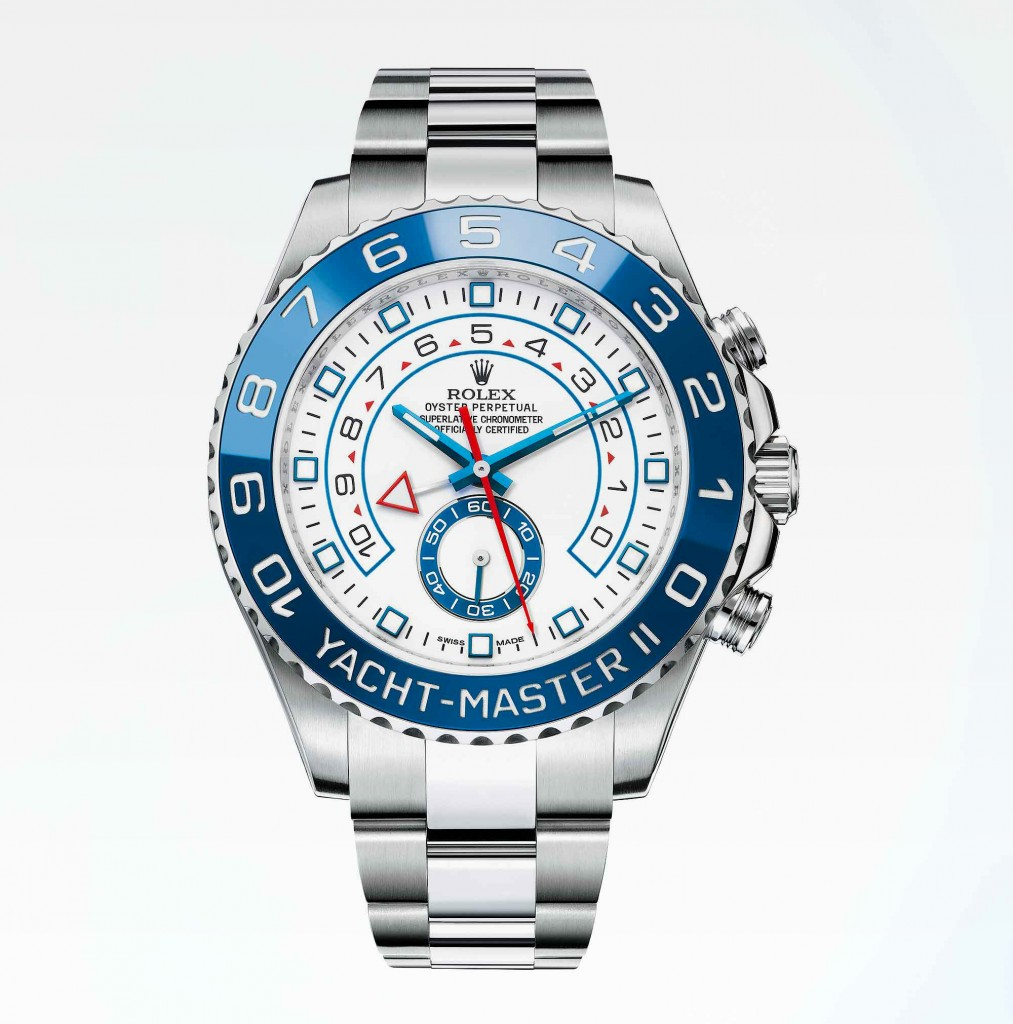 Rolex Yacht-Master II in Stainless Steel